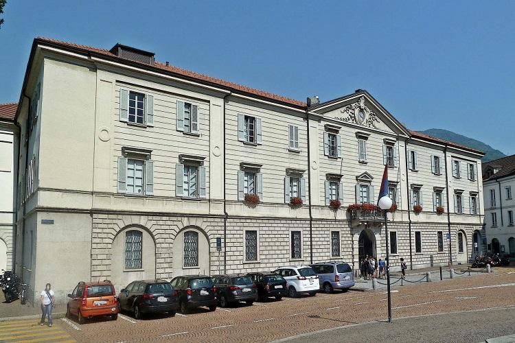 Dipartimento del territorio - Palazzo del Governo, Svizzera